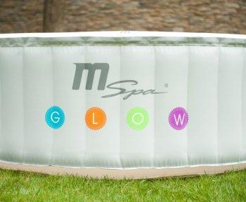 Mobilní vířivá vana MSpa OASIS M-022LS GLOW