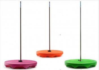 WX POOLBAR tyč & step do bazénu - oranžová