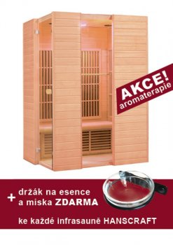 Infrasauna HANSCRAFT SWISS