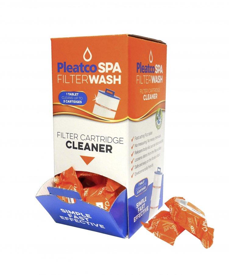 Tabletový čistič SPA kartušových filtrů