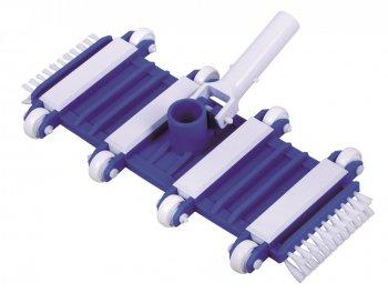 Vysavač flexibilní s kolečky a kartáči do boku