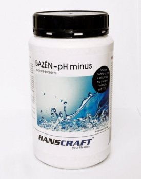 HANSCRAFT BAZÉN - pH minus - 1,5 kg
