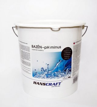 HANSCRAFT BAZÉN - pH minus - 4,5 kg