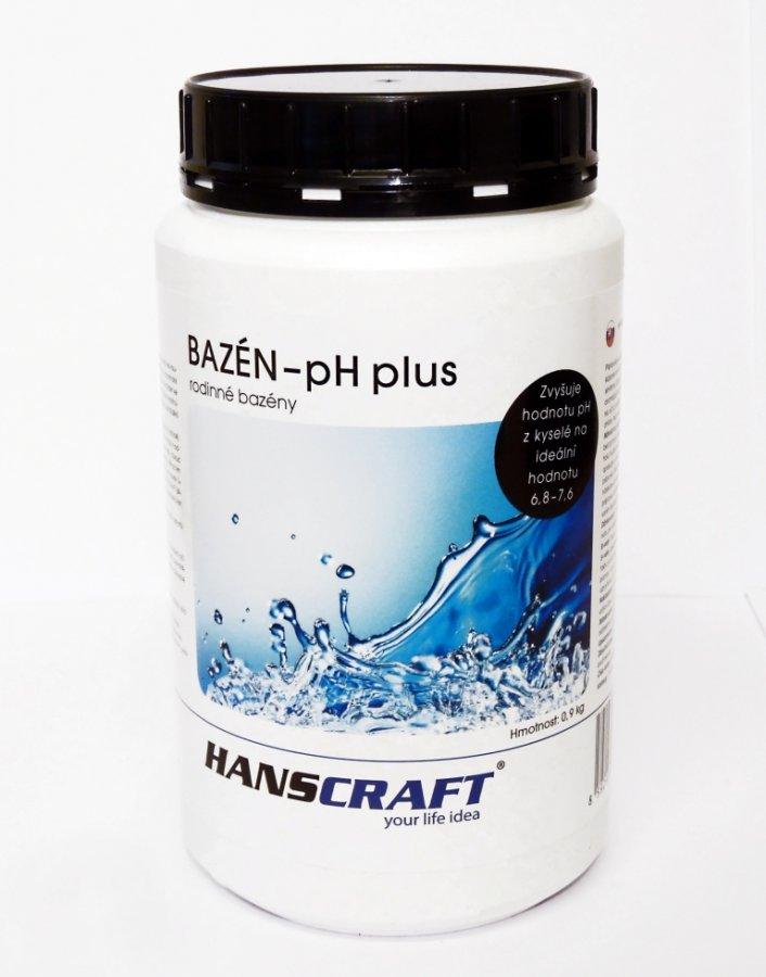 HANSCRAFT BAZÉN - pH plus - 0,9 kg