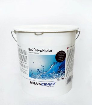 HANSCRAFT BAZÉN - pH plus - 3 kg