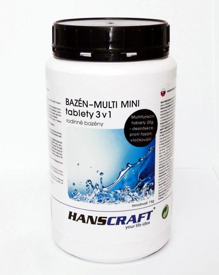 HANSCRAFT BAZÉN - MULTI MINI tablety 3v1 - 1 kg