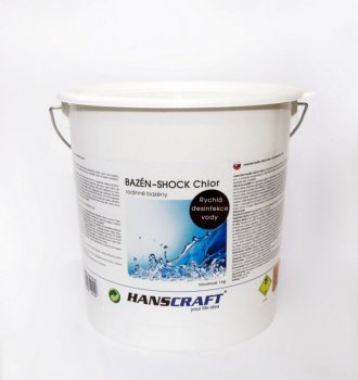 HANSCRAFT BAZÉN - SHOCK Chlor - 2,5 kg