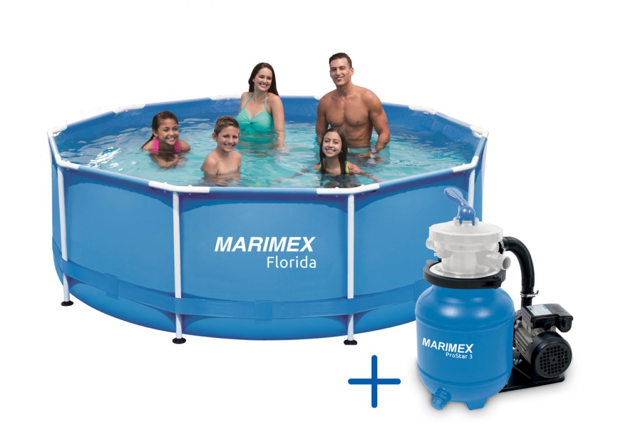 Bazén Florida 3,05 x 0,91 m s PF Prostar 3