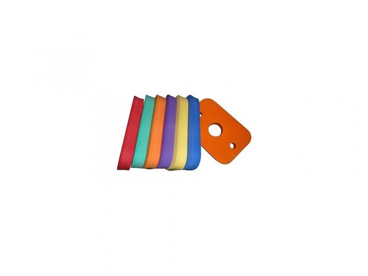 Deska plavecká Obdélník 300x200x38 mm - mix barev