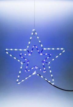 Hvězda svítící LED dekorace
