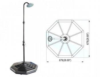 Solární sprcha HANSCRAFT EASYSUN - 20 l