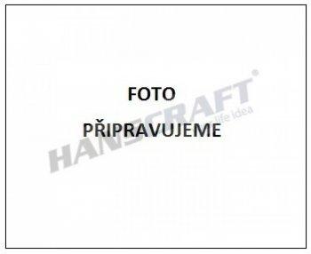 Solární sprcha s ruční sprchou DADA černá/inox
