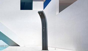 Solární sprcha s oplachem nohou ENERGY PRO černá