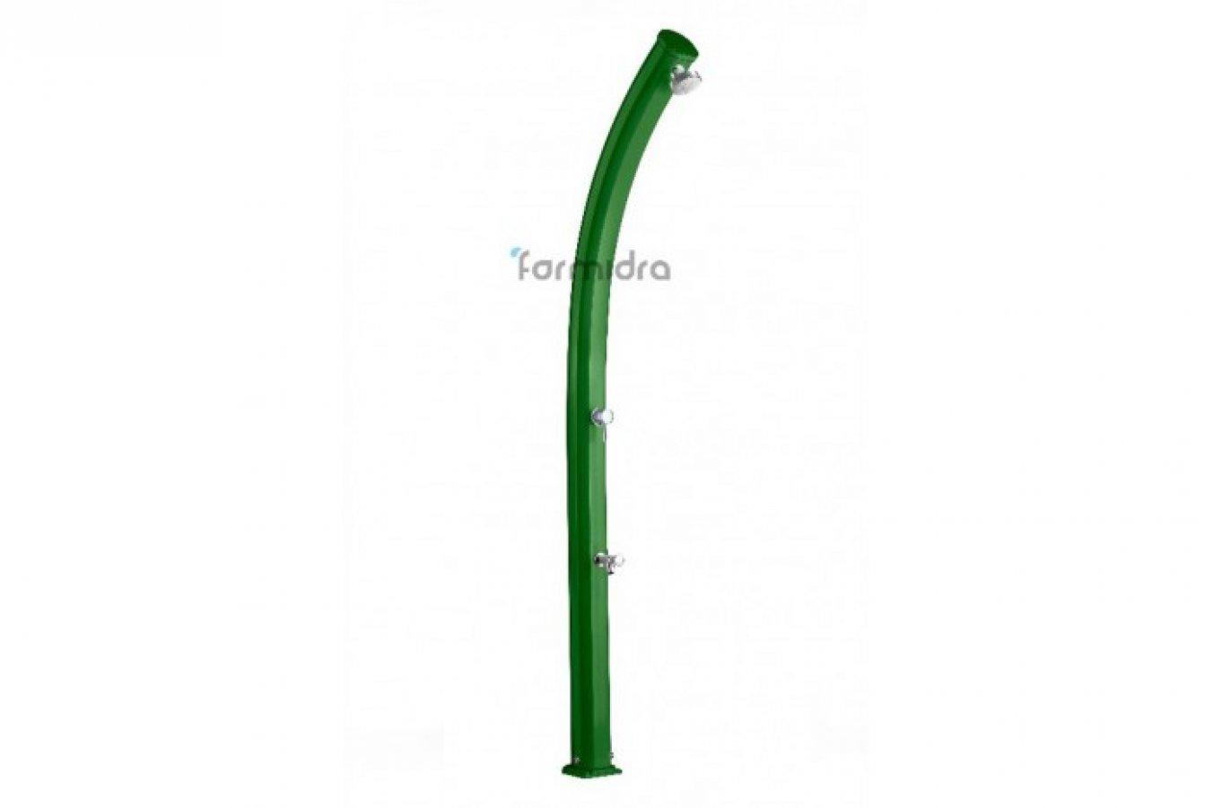 Solární sprcha s oplachem nohou JOLLY zelená