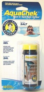 AquaChek testovací proužky - sůl 400-7000 mg/l