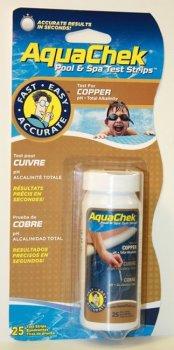 AquaChek testovací proužky - 3v1 měď...