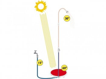 Sprcha solární Sun