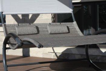 Vivere - Double Chaise Rocker # Sienna