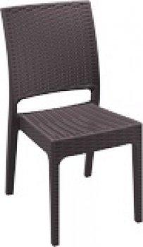 SIESTA EXCLUSIVE; Židle FLORIDA hnědá