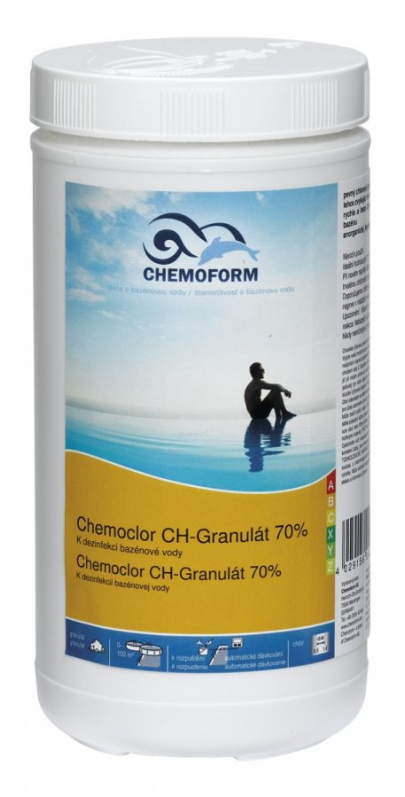 Chlor-super šok 70% nestabilní 1 kg