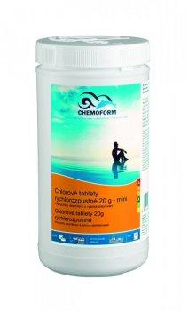 Chlorové tablety rychlorozpustné mini 3 kg