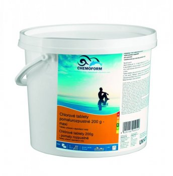 Chlorové tablety pomalorozp. 200g 1 kg