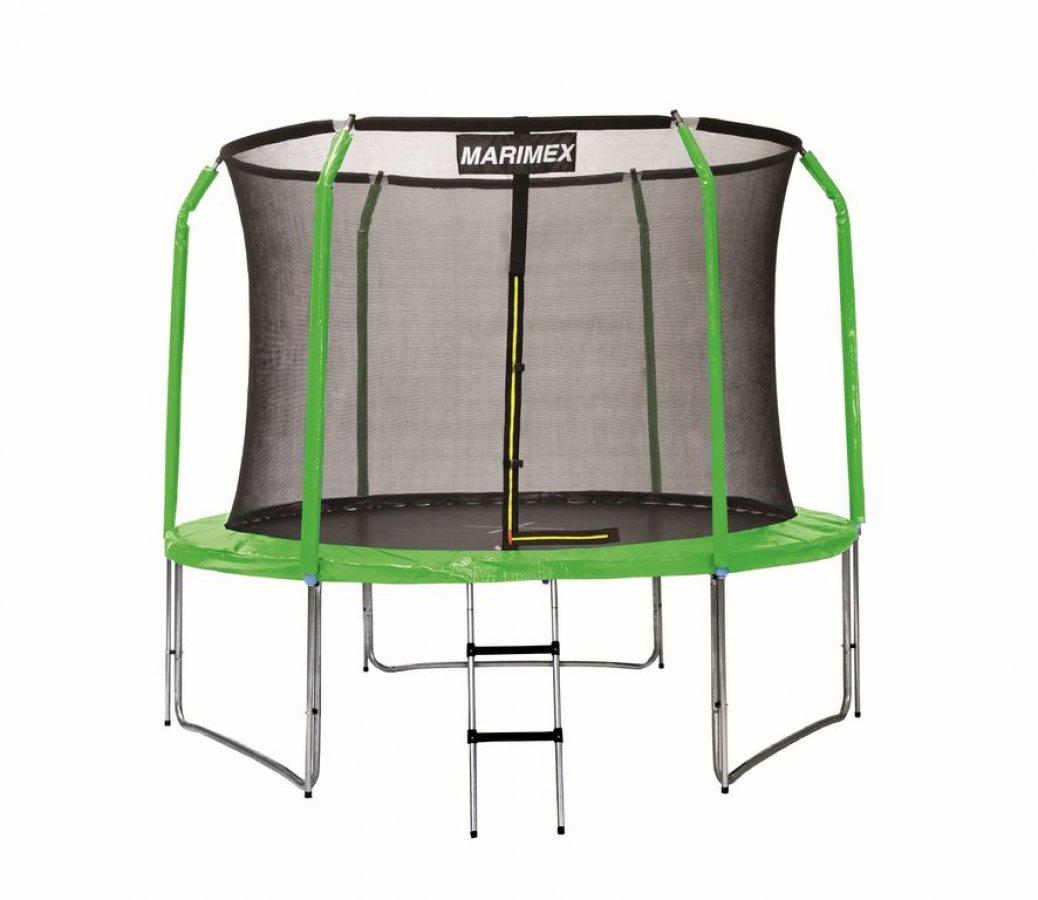 Sada krytu pružin a rukávů na trampolínu 305 cm - zelená