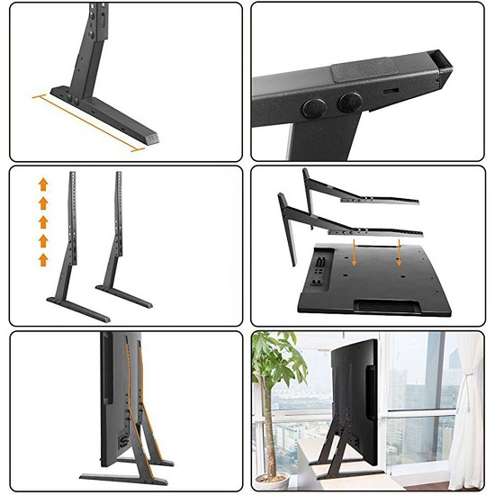 Inštalacia stojana na TV Fiber Novelty FNP2